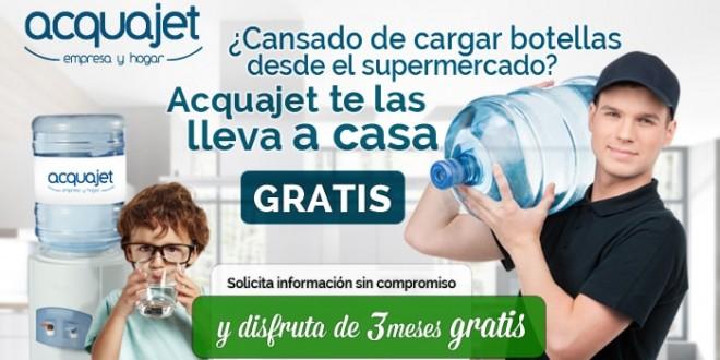 3 Meses GRATIS de agua mineral a domicilio