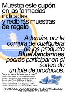 Muestras Gratis Blue Mandarines