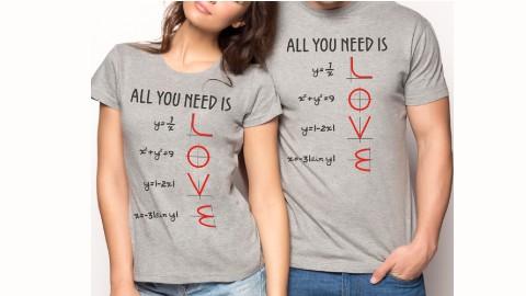 Camiseta Love: Oferta 3 Camisetas 30€ en Pampling
