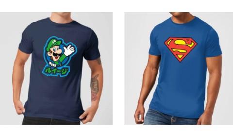 2 Camisetas por 28€ en Zavvi