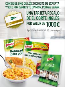 2.000 Kits Prueba Sazonadores Knorr