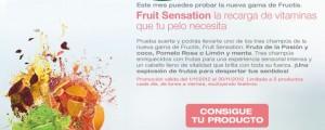 Muestras Gratis Champús Fructis Fruit Sensation de Garnier