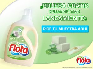 muestras gratis detergente líquido flota jabón artesanal