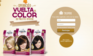 muestras gratis tinte palette intense