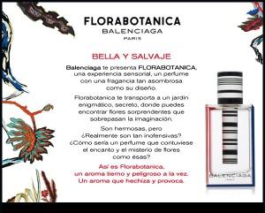 muestras gratis perfumes florabotanica de balenciaga