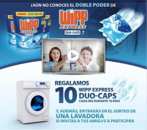 Muestras Gratis Cápsulas Wipp Express Duo-Caps
