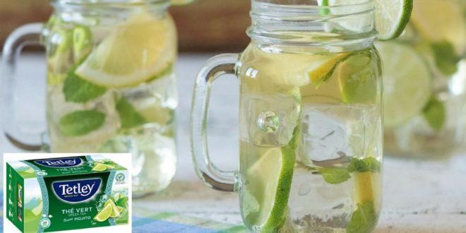 "Regalan 400 productos Tetley Green Tea ""Mojito"""