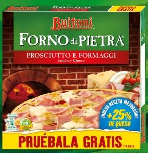 Prueba La Pizza Buitoni De Forno de Pietra Gratis