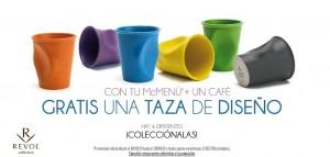 Mcdonalds te regala una taza de diseño con tu mcmenú + un café