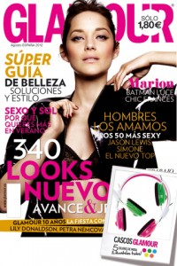 Glamour te regala unos cascos glamour con su revista de agosto 2012