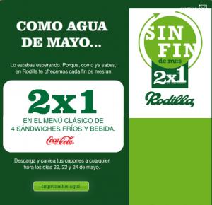 2x1 en Rodilla