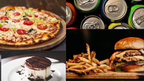 Pizzas, Hamburguesas, Entrantes...con Telepizza