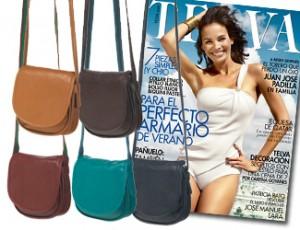 Bolso bandolera del verano con la revista Telva